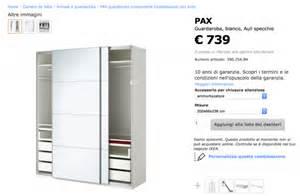Vendo mobile ikea pax ante scorrevoli posot class