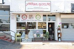 junktique recycling  norwalk ct   unique  shop