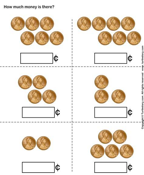 money activities for preschool counting pennies worksheet turtle diary 488