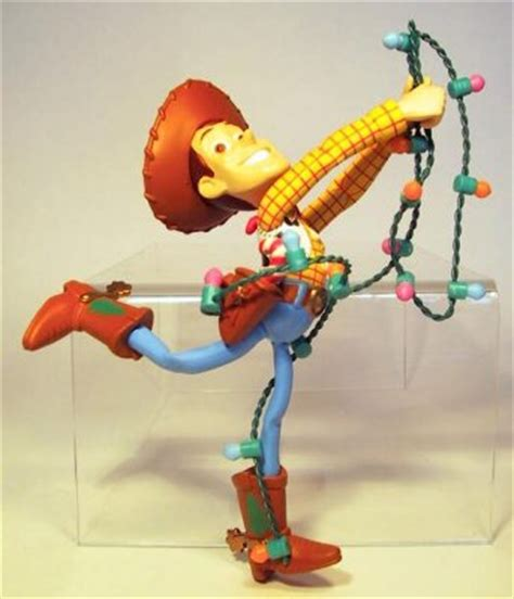 woody tangled   christmas lights ornament grolier