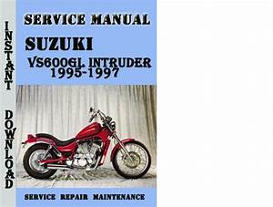 Suzuki Vs600gl Intruder 1995