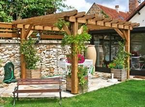 17 basta bilder om pergola pa pinterest bakgardar With superior deco de terrasse exterieur 17 decoration rideaux romantique