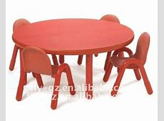 High Quality Kids Wooden Round Table And Chair For Kids