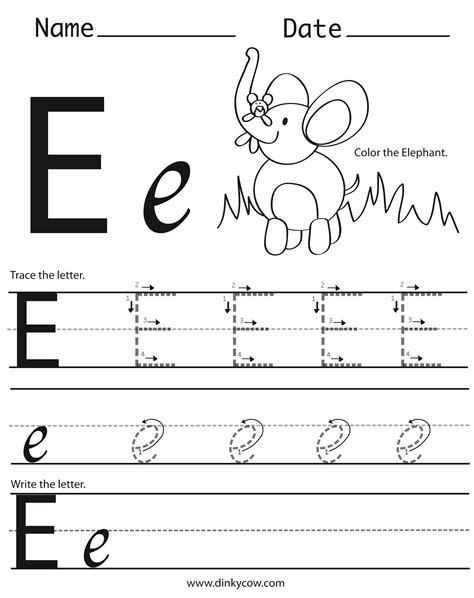 letter e worksheets preschool letter e worksheet for preschool worksheets for all 307