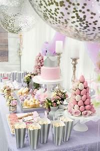 elegant party themes Kara's Party Ideas Elegant Purple Princess Birthday Party ...