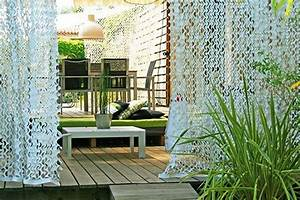 Rideau Pour Balcon : rideau camouflage pour terrasse inspiration jardin ~ Premium-room.com Idées de Décoration