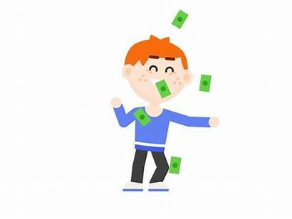 Money Dance Alms Dribbble Ginger