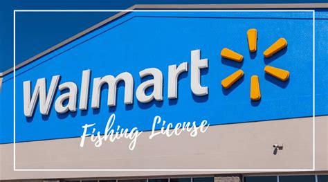 fishing walmart license much