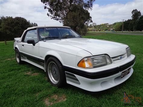 1988 Ford Saleen Mustang Convertible Coupe Supercharged V8