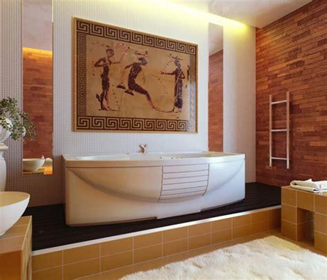 salle de bain romaine salle de bain de luxe aux inspirations diverses design feria