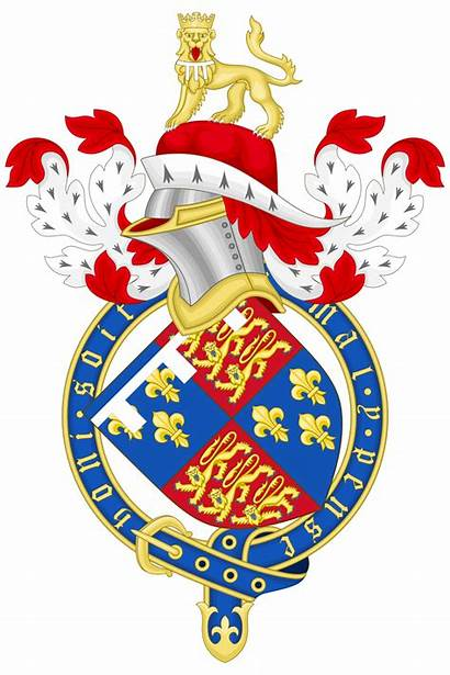 Arms Coat Prince Wales France Svg Ancient