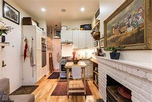 Couple turns a 22 sqm new york apartment into a cozy home for Interior decorating classes nyc