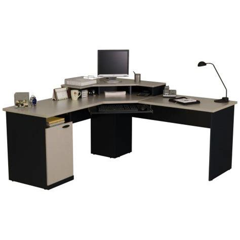 bestar hton corner computer desk furniture computers