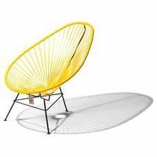 Fauteuil Acapulco Jaune : fauteuil bascule condesa jaune le fauteuil acapulco authentique ~ Teatrodelosmanantiales.com Idées de Décoration