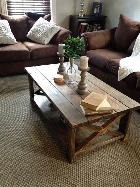 ana white diy rustic  coffee table diy projects