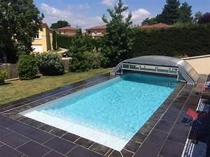 Fabriquer Un Abri De Piscine : elitys mianso abri de piscine bas t lescopique ec 39 creation ~ Zukunftsfamilie.com Idées de Décoration