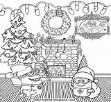 Coloring Merry Minions Cool Minion Teenagers Printable Things Draw Drawing Tree Xmas Santa Hard Holiday Happy Simple Throughout Collage Clipart sketch template