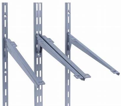 Shelf Mounted Adjustable Brackets Shelving Wall System