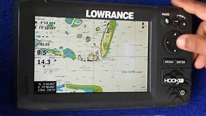 Lowrance Hook-7 Display Settings  Dhivehi