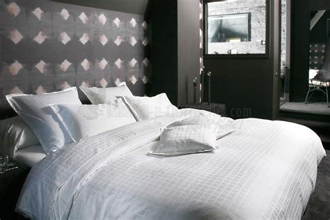 linge de lit palace blanc literie a domicile
