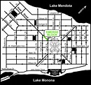 Map Of Downtown Madison Wi