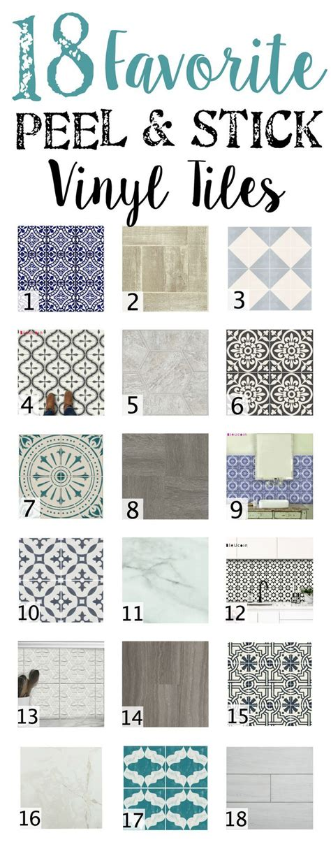 The Best Peel And Stick Tiles by 18 Favorite Peel And Stick Vinyl Tiles Diy Home