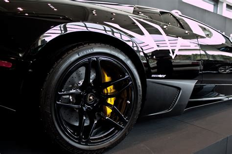 Black On Black Murcielago Lp670-4 Sv Pics From Lamborghini