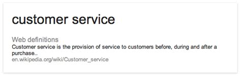 Definition Of Customer Service Exle by Customer Service Definition Adrefre