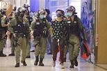 網民發起元朗南邊圍示威行動 僅「Lunch哥」現身|即時新聞|港澳|on.cc東網