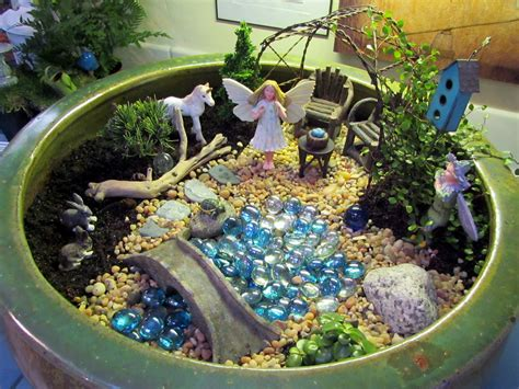 Unicorn Garden Decoration by Gardening In Miniature By Janit Calono With Photo Log Of