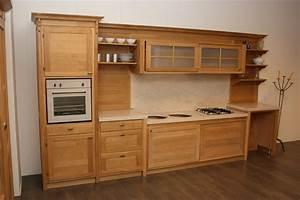 Cucina rovere naturale cucine a prezzi scontati for Cucina rovere naturale