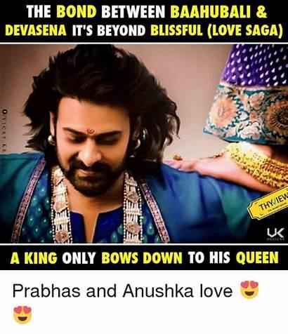 Anushka Bahubali Memes Devasena Baahubali Bond Blissful