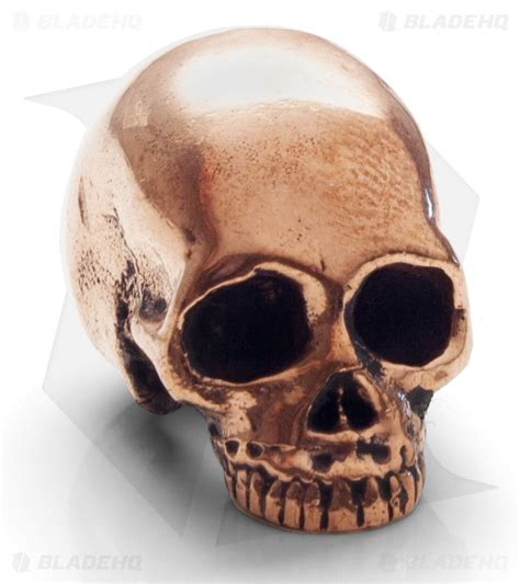lion armory classic skull bead copper blade hq