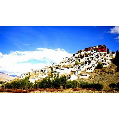 Thiksey Monastery in LadakhThiksey Tour