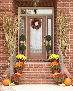 Fall, Front, Porch, Decor, Our, Happy, Harvest, At, Home
