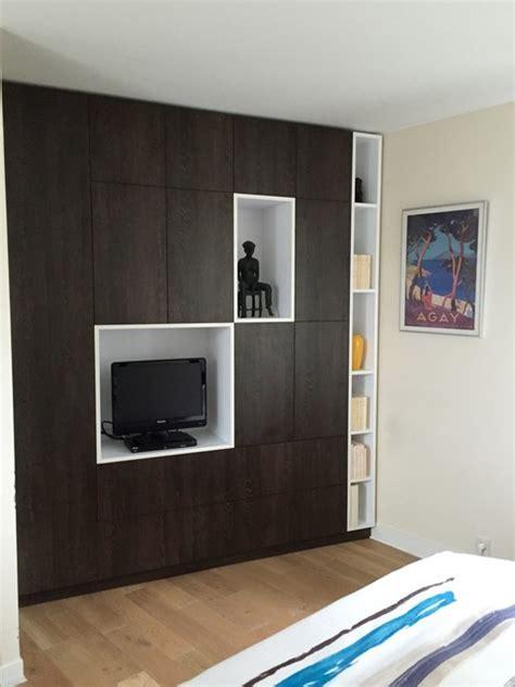 renover des armoires de cuisine placards sur mesure chambre parentale contemporain