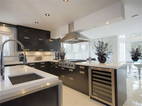 wood frame house modern kitchen toronto by