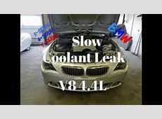 Coolant Leak BMW V8 44L X5 645i 650i How to Repair