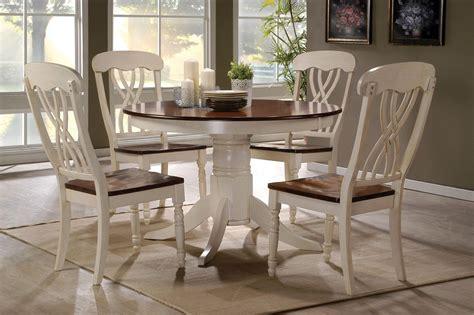 lander oak buttermilk  kitchen table set table