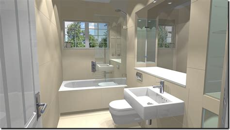 Modern Family Bathroom Ideas by Oxshott Ceramics Bathroom Designs 1