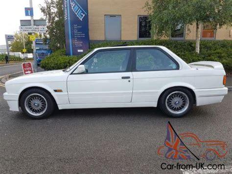 1990 bmw e30 325i sports conversion alpine white 2dr tech2 exle