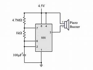 miniature beeping circuit prank make diy projects how With circuit piezo electric buzzer explained electronic circuit