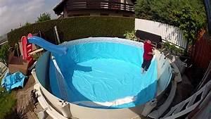 Liner Piscine Octogonale : pose d 39 un nouveau liner 75 1000 me dans piscine ronde en ~ Melissatoandfro.com Idées de Décoration
