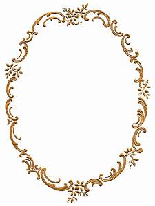 Antique Images: Free Frame Border Digital Download Gold ...
