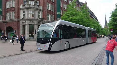 van hool elektrobusse exquicity der vhh messfahrten