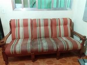 Kolonial Sofas : sofa colonial em madeira vazlon brasil ~ Pilothousefishingboats.com Haus und Dekorationen