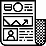 Newsletter Icon Update Vectorified Onlinewebfonts