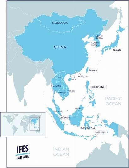 Asia East Map Region Pdf Eastasia Regional