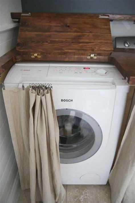 meuble haut cuisine porte coulissante comment intégrer le lave linge dans intérieur 31 idées