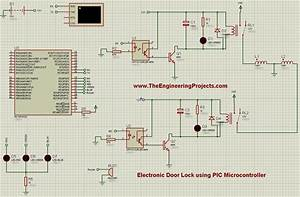 Electronic Door Locks Using Pic Microcontroller